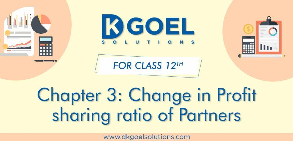 DK Goel Solutions Class 12 Chapter 3